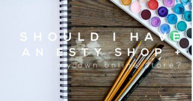 Should I have a Etsy Shop AND a website?
